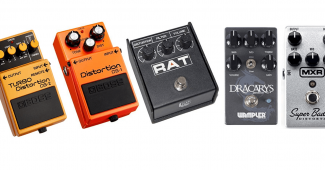 mejores pedales overdrive para guitarra