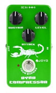 Joyo JF-10 - Pedal de efecto compresión para guitarra (1)