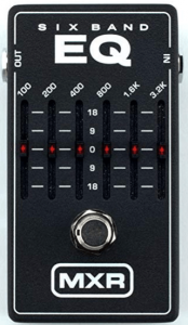 MXR 6 Band Graphic EQ Pedal