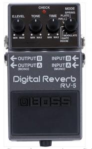 Reverb Boss RV-5