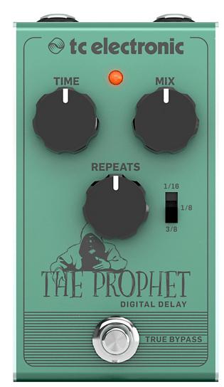 TC Electronic The Prophet Digital Delay Effect Pedal