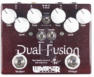 Wampler Dual Fusion Tom Quayle overdrive