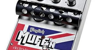 Electro-Harmonix English Muff' n Tube Pedal de Overdrive