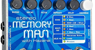 electro-harmonix Stereo Memory Man with Hazarai Stereo Memory Man